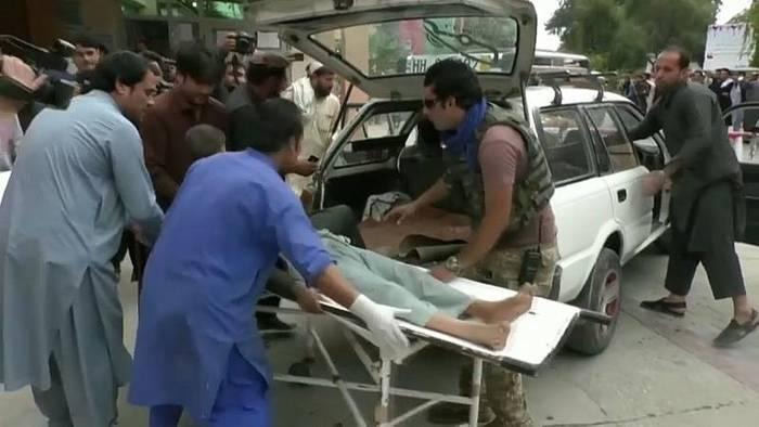 News video: Mehr als 60 Tote bei Anschlag auf Moschee in Afghanistan