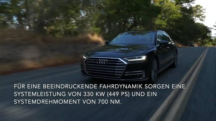 News video: Luxus trifft Effizienz - Der Audi A8 L 60 TFSI e quattro