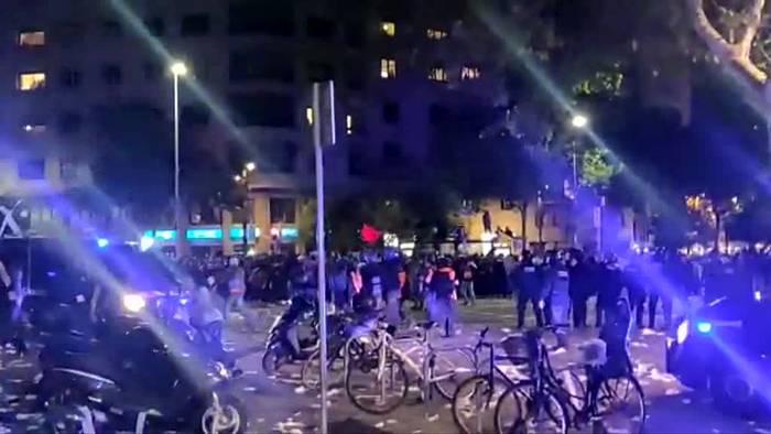 Video: «El Clásico» wegen Unruhen in Katalonien verschoben