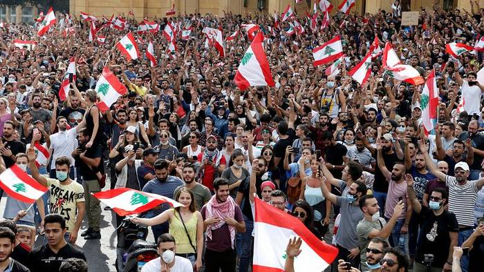 News video: Libanon: Proteste legen öffentliches Leben lahm