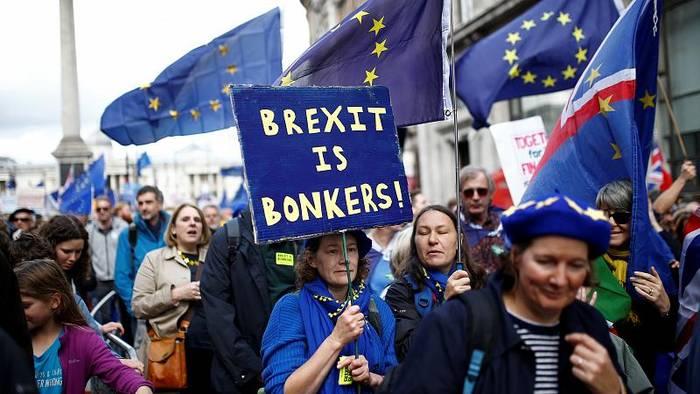 News video: Hunderttausende demonstrieren gegen Brexit