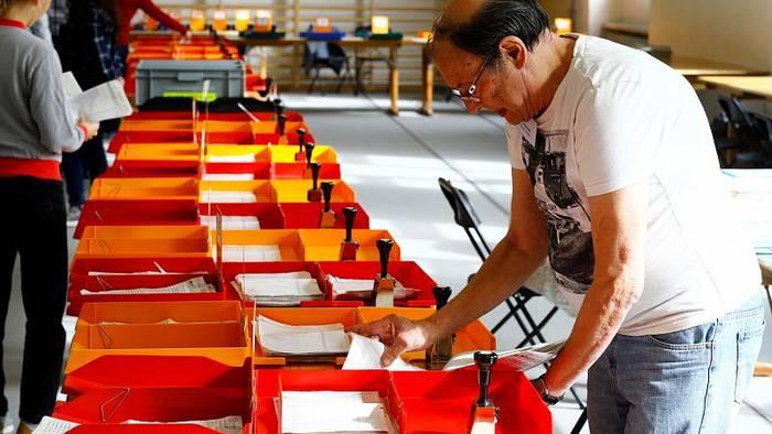 News video: Grüne legen bei Schweizer Parlamentswahl zu