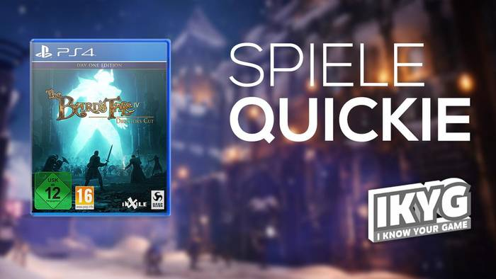 News video: The Bard's Tale IV: Director's Cut - Spiele-Quickie