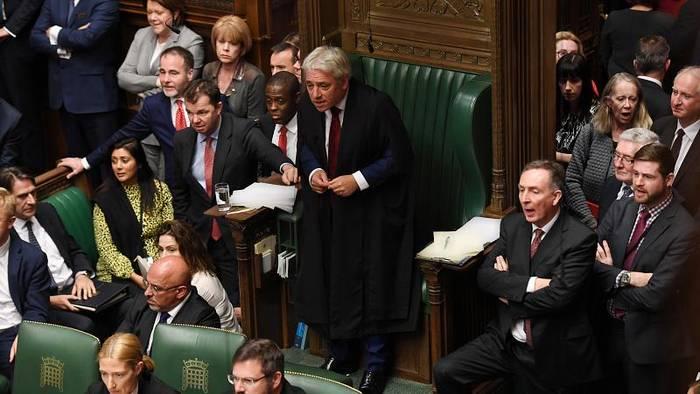 News video: Johnson will trotz Abstimmungsschlappe Brexit-Termin halten