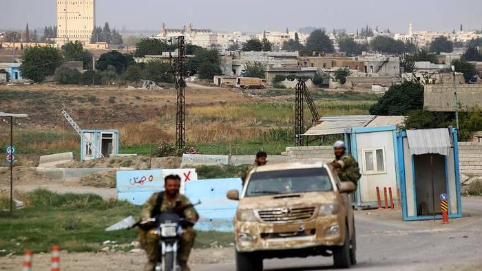 Video: Kurdenmilizen beginnen Rückzug aus Nordsyrien