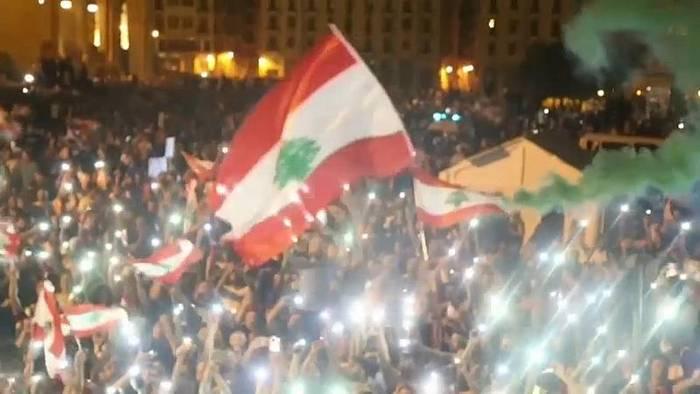 News video: Trotz Reformwillens: Druck auf libanesische Regierung wächst weiter