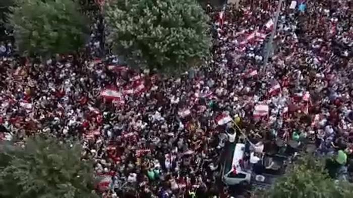 Video: Nach Protesten im Libanon: Regierung plant Reformen