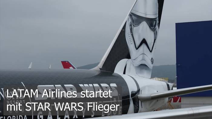 Video: LATAM startet mit STAR WARS Flieger!