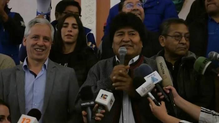 News video: 45,3 Prozent der Stimmen - Morales muss trotzdem in die Stichwahl