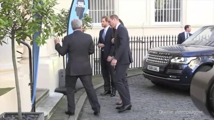 News video: Prinz Harry räumt angespanntes Verhältnis zu William ein