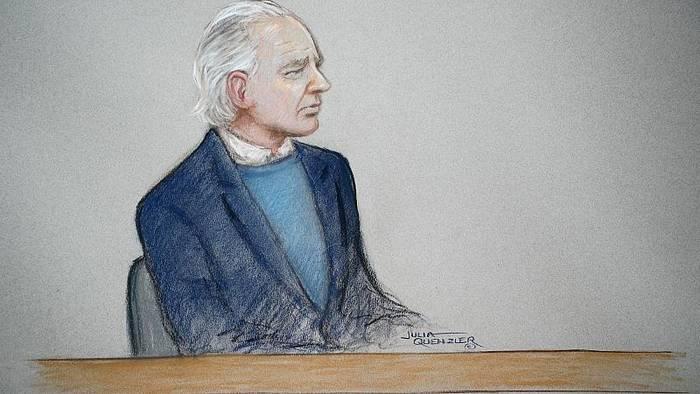 Video: Wikileaks-Gründer Assange vor Londoner Gericht