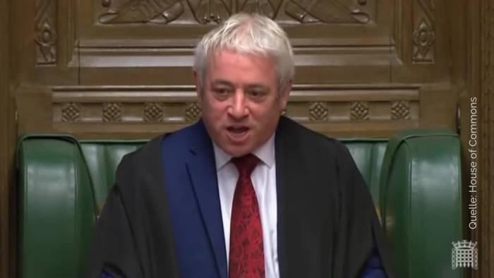 Video: Britisches Parlament darf nicht über Brexit-Deal abstimmen