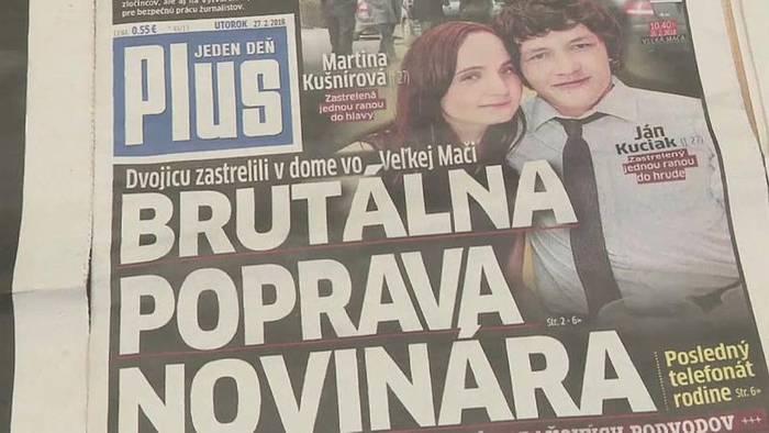 News video: Mordfall Kuciak: Vier Verdächtige angeklagt