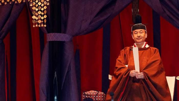 Video: Historische Zeremonie: Japan feiert Naruhitos Thronbesteigung