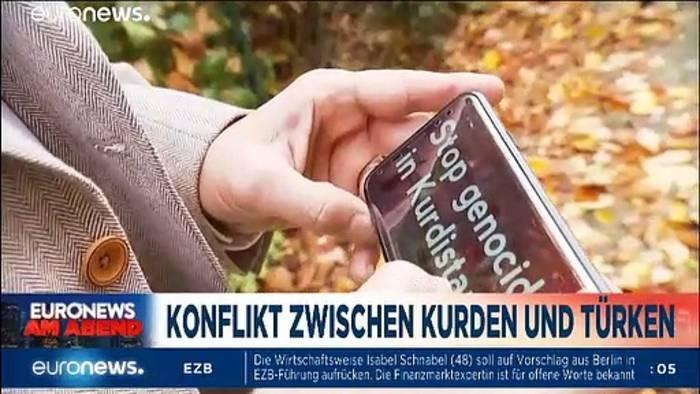 Video: Euronews am Abend vom 22.10.2019