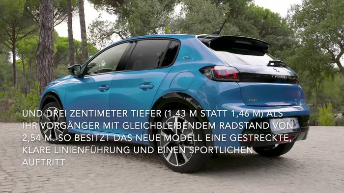 Video: Der neue PEUGEOT 208 - Sportlich-frisches Design