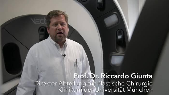 News video: Münchner Chirurgen präsentieren ersten 3D-Ganzkörperscanner