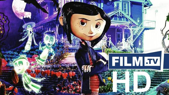 News video: Coraline Trailer Trailer Deutsch German (2009)