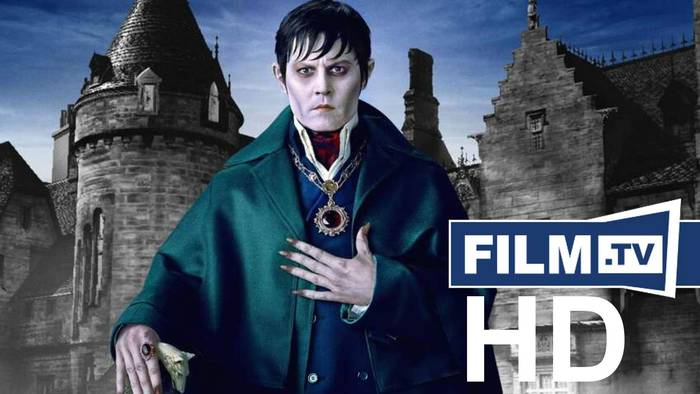 News video: Dark Shadows Trailer Deutsch German (2012)