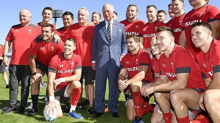 News video: Prinz Charles besucht walisische Rugby-Nationalmannschaft in Tokio