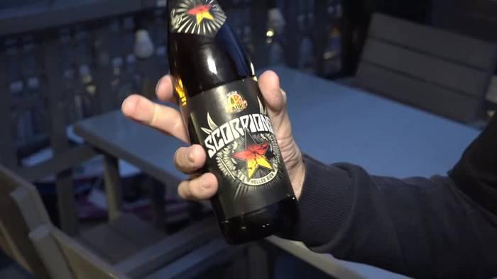 Video: Rocken und Bierbrauen: Scorpions präsentieren Ale in Hamburg