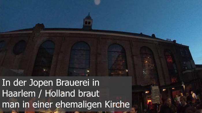 News video: Göttliches Bier in Haarlem: Hier wird in einer ehemaligen Kirche gebraut!