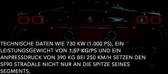 Video: Der Ferrari SF90 Stradale - der neue Serien-Supersportwagen_de
