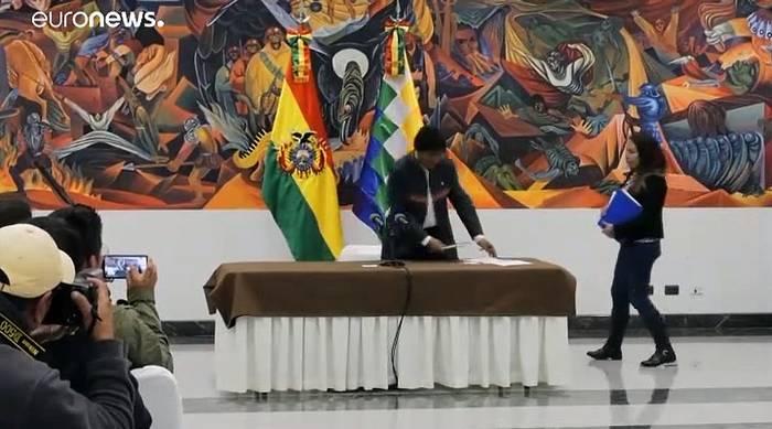News video: Doch keine Stichwachl bei umstrittener Präsidentenwahl in Bolivien