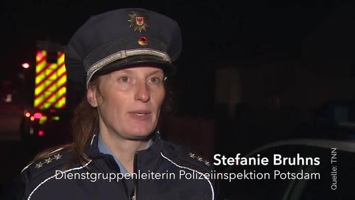 News video: Vermutlich Familiendrama in Teltow - Eine Tote