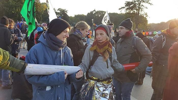 News video: Euronews exklusiv unterwegs mit Extinction Rebellion