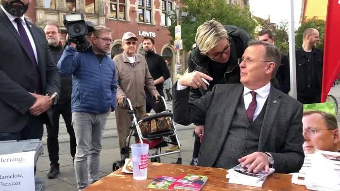 News video: Thüringen-Umfrage: Rot-Rot-Grün schwächelt