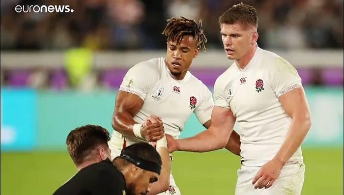 News video: England erreicht durch 19:7 über Neuseeland das Finale der Rugby-WM