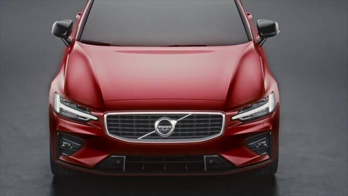 Video: Neuer Volvo S60 debütiert auf der Techno Classica
