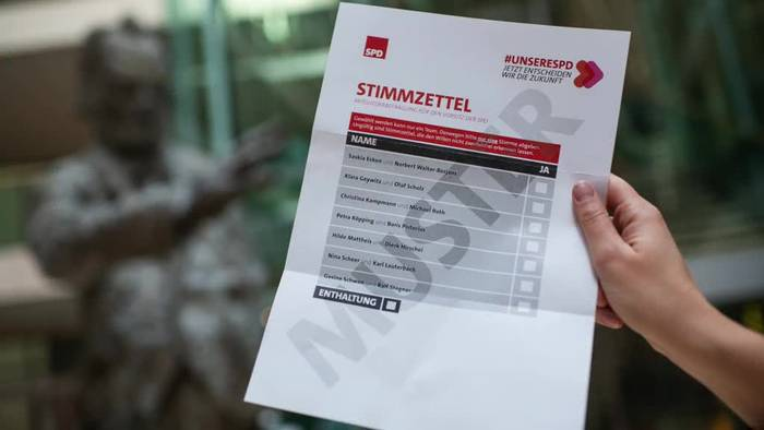 News video: SPD-Votum über Vorsitz: 250 Helfer bei der Auszählung