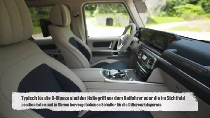 Video: Die neue Mercedes-Benz G-Klasse - Das Interieur