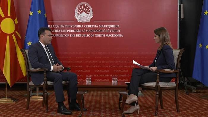 Video: Nordmazedonien warnt nach EU-Veto vor