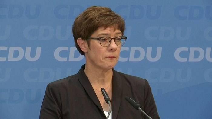 Video: Zoff in der CDU - Kramp Karrenbauer unter Druck