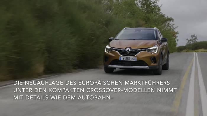 Video: Der neue Renault Captur - Hochmoderne neuauflage des Europaweit Meistverkauften Kompakt-Crossovers
