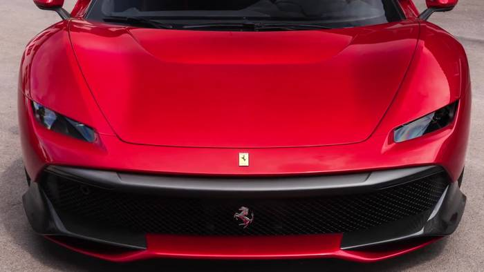 News video: Der Ferrari SP38, die neue Kreation aus dem One-Off-Programm