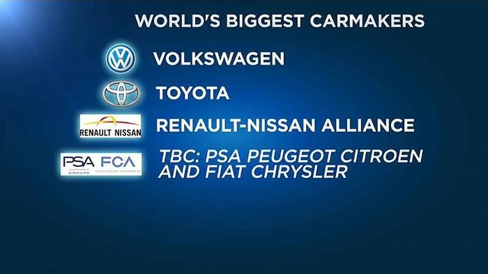 News video: Fusionsgespräche zwischen Fiat-Chrysler und der PSA Group