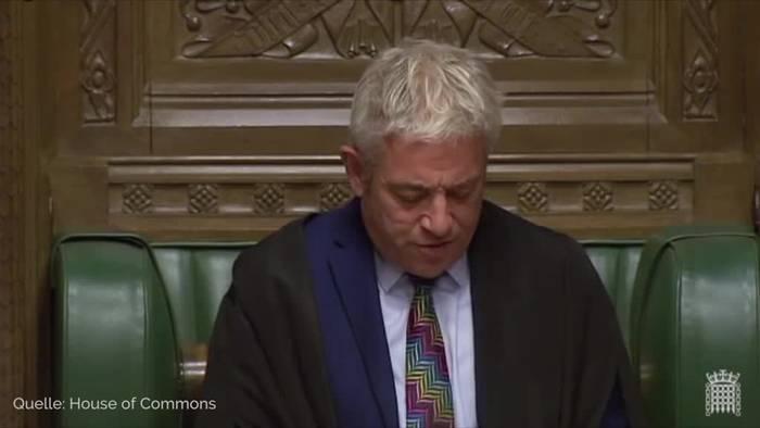 Video: Britisches Parlament stimmt für Neuwahl am 12. Dezember