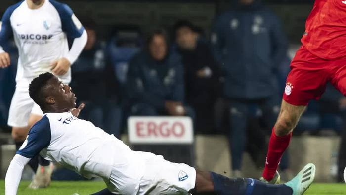 News video: Bayern im Pokal mit «Quäntchen Glück» - Blamage für Köln