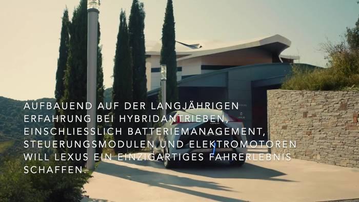 Video: Weltpremiere des Lexus LF-30 Electrified Concept