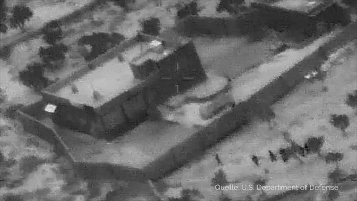 Video: US-Militär: Details zu Angriff auf IS-Chef Al-Bagdadi