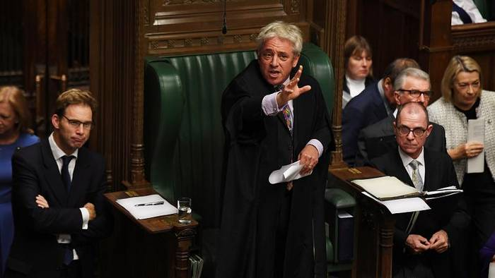 News video: London: Parlamentspräsident John Bercow (56) tritt ab