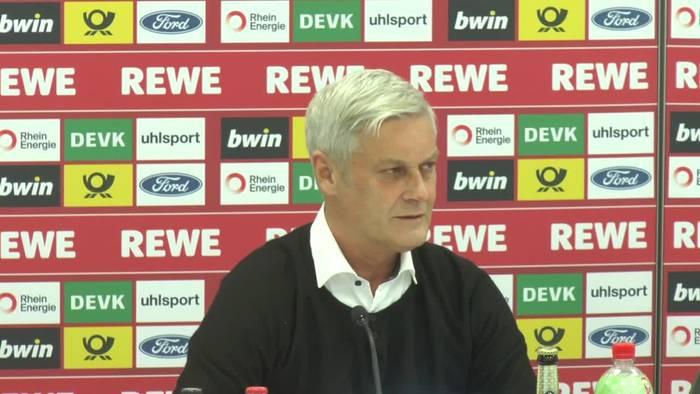 News video: So erklärt Armin Veh seinen Rückzug beim 1. FC Köln