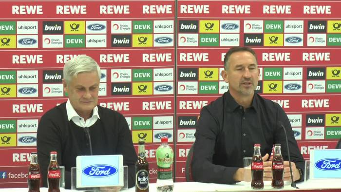 News video: 1. FC Köln: Kein Ultimatum von Veh an Trainer Beierlorzer