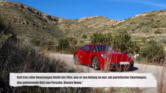 Video: Der neue Porsche 911 – Design-Ikone und High-Tech-Sportwagen
