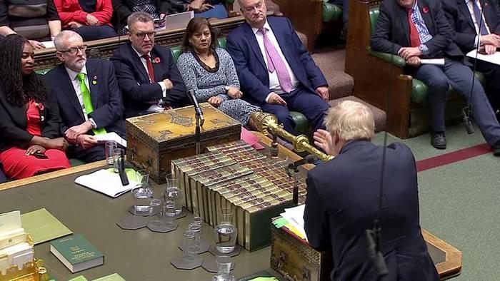 News video: Vor Parlamentswahl am 12.12.: TV-Duell zwischen Johnson und Corbyn