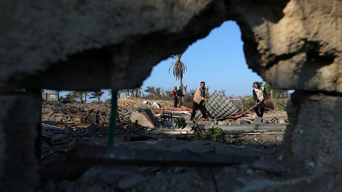 Video: Nahost: Israelische Luftangriffe in Gaza